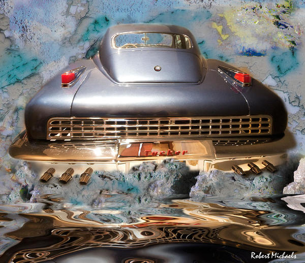 1948 Tucker Torpedo Collage