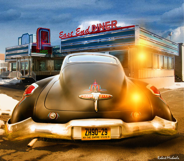 1950 Buick Dynaflow at the Diner