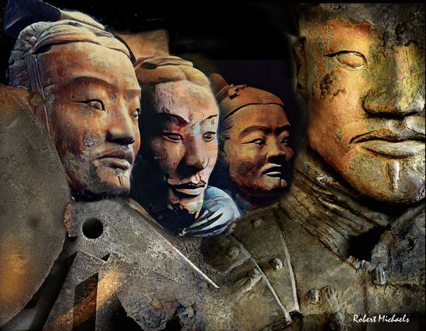 Stone Portrait - Terracotta Warriors
