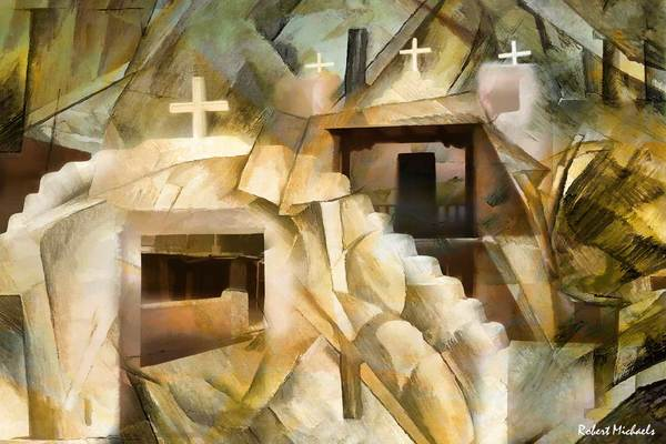 Abstract Cubistic Church